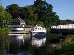 Boat on Caledonian canal 01