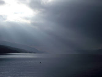 Blue Loch Ness by DanaVarahi