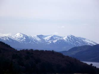 Scottish Highlands by DanaVarahi