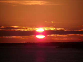 Sunrise over Moray Firth 2 by DanaVarahi