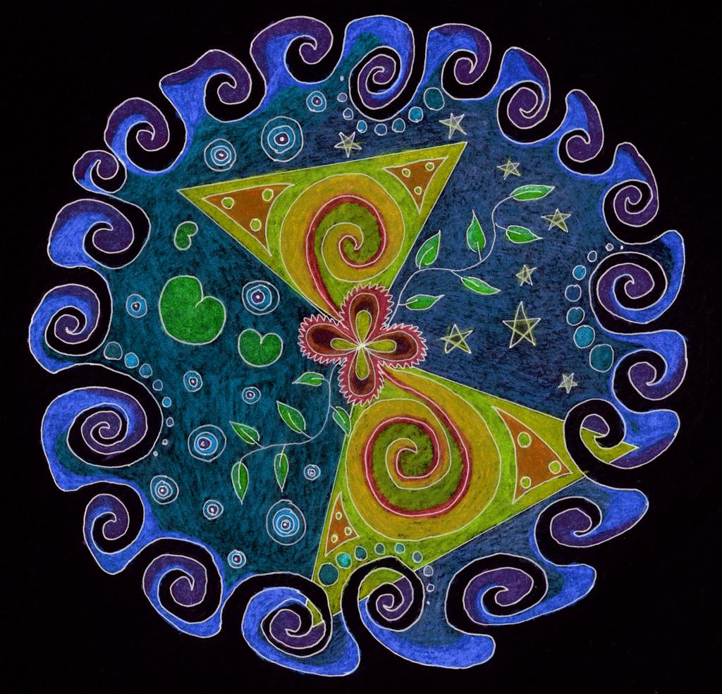 Chaos Buterfly Mandala by DanaVarahi