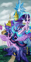 Twilight Sparkle And Starlight Glimmer
