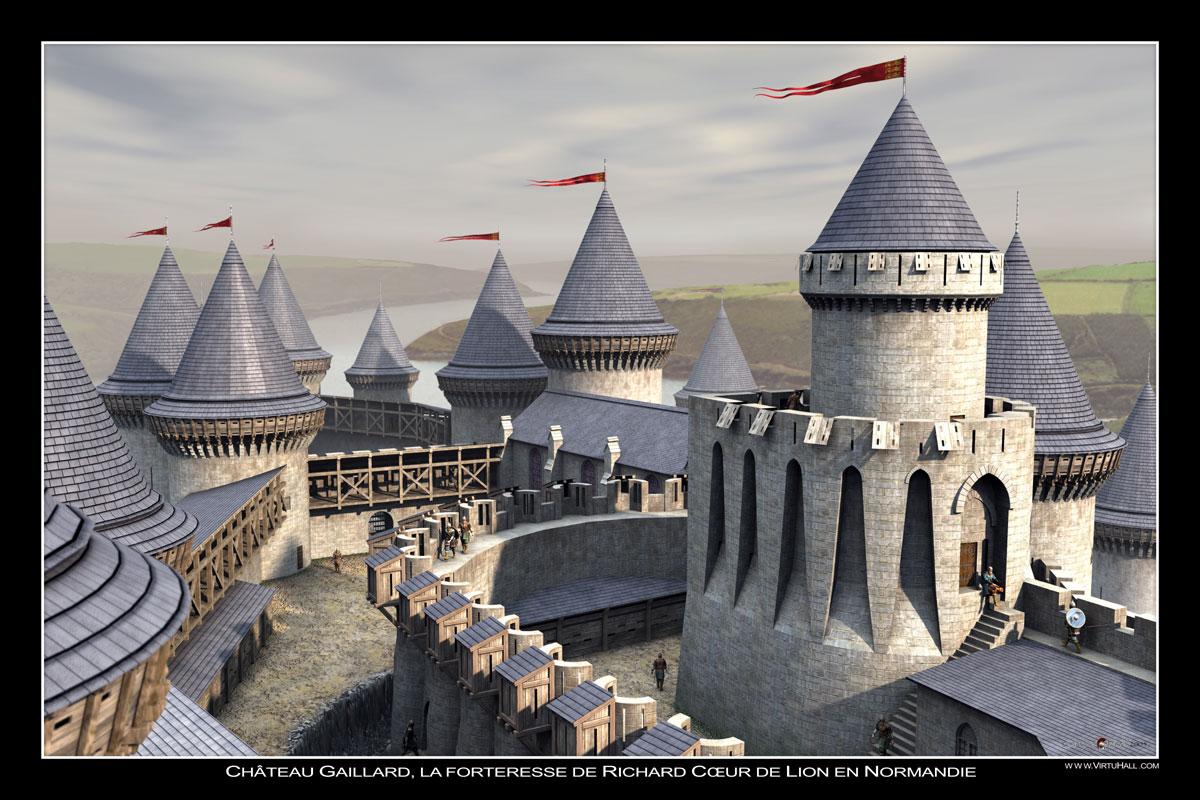 Chateau Gaillard by LaHorde