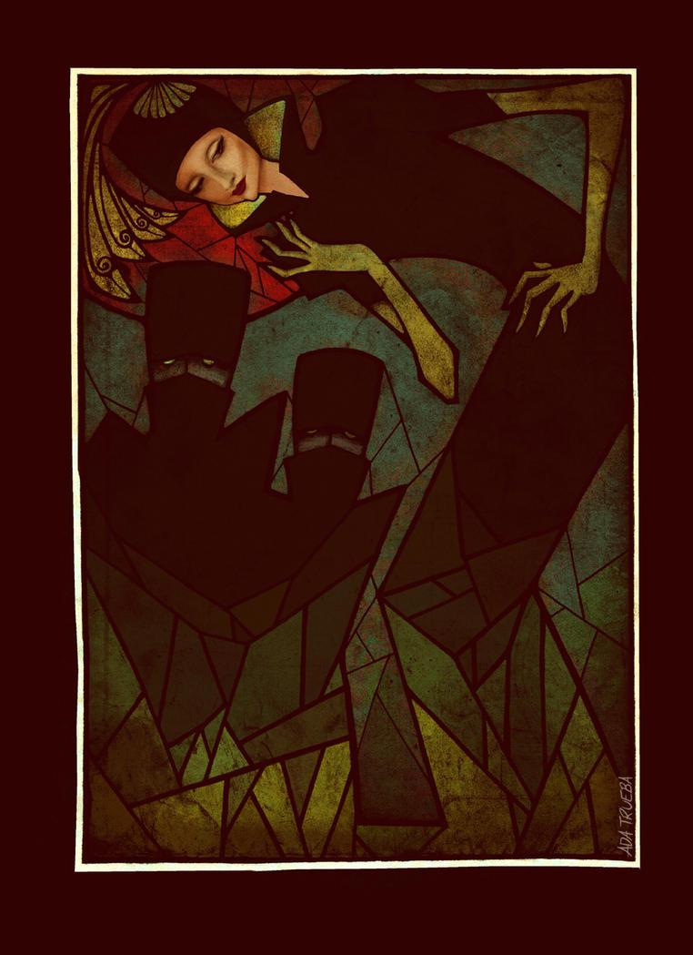 Book Illustration #4: Carmilla by AdaTrueba