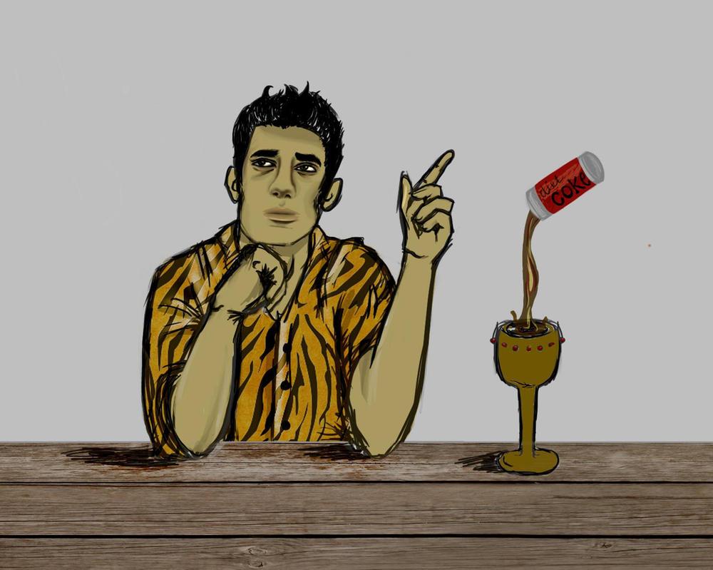 Mr. D- Percy Jackson by MissCoffeeDrinker on DeviantArt