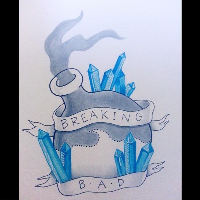 breaking bad tattoo by misscoffeedrinker on deviantart. Black Bedroom Furniture Sets. Home Design Ideas