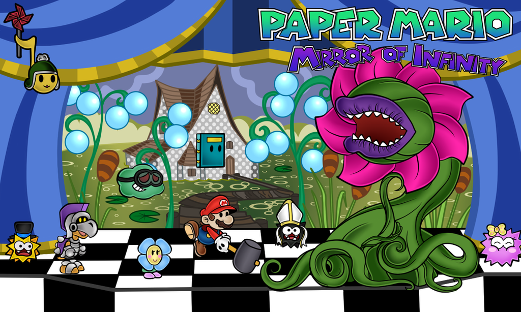 how to play super paper mario