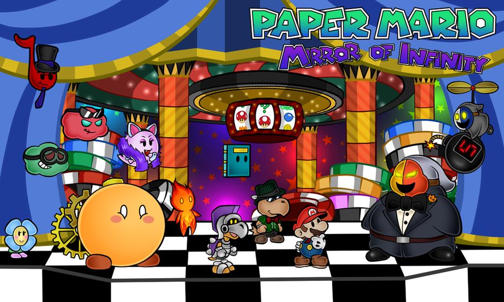 Paper Mario: Mirror of Infinity: Chapter 5 by Renleixue on DeviantArt