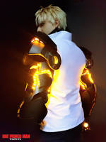 Genos One Punch Man Cosplay by Exerbrang
