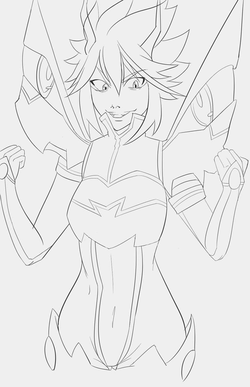 Evil Ryuko Matoi by MADG3ni0us
