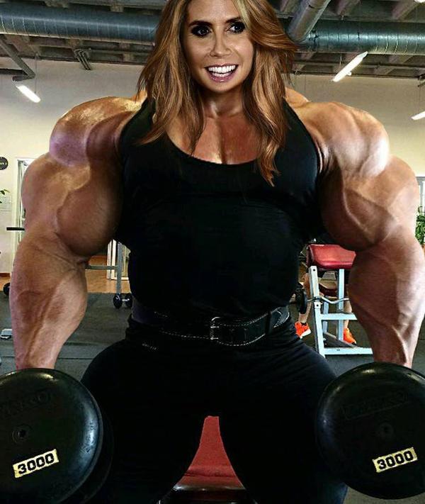 Heidi Klum Muscle Morph By Paulscowboys On DeviantArt