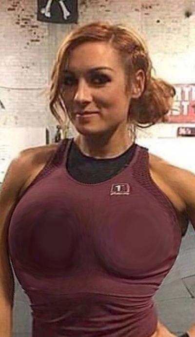 Lynch boobs becky Becky Lynch