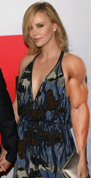 Charlize Theron Muscle Morph
