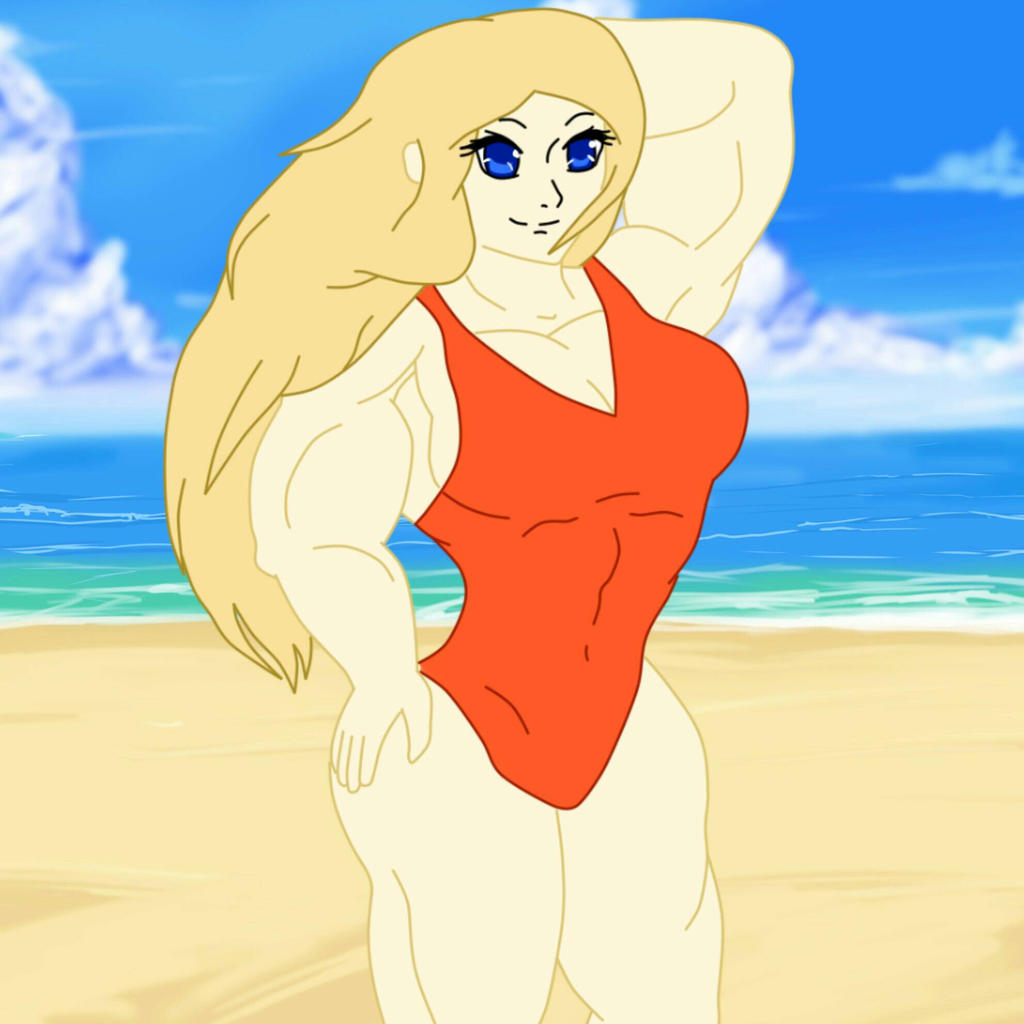 Serena At The Beach By Rogex999 On DeviantArt