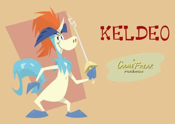 Keldeo by Cotton-gravy
