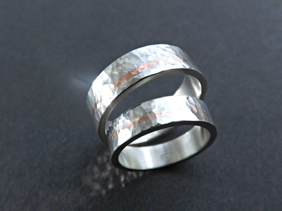 Silver Wedding Ring Copper Silver Wedding Rings By Siihraya On DeviantArt