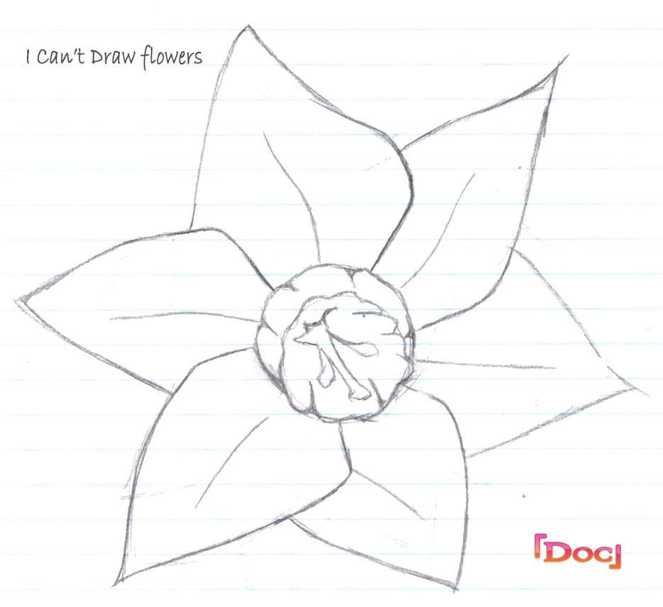 I Cant Draw Flowersapart By Doc Inc On Deviantart