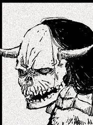 The Skull Head by ComaKoma