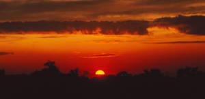 Sizzling Sunset