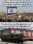 US Embassy in Jerusalem Logic