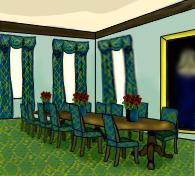 Dinning room by Kristykimmy