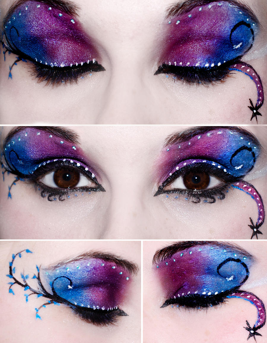 Blue and Purple Eyes