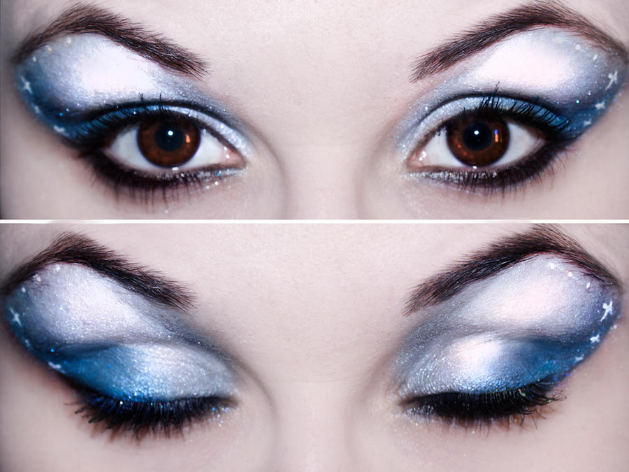 Simple Holiday Eyes