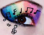 Rainbow Music Eyes