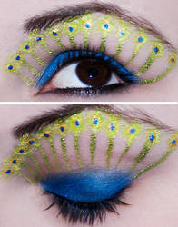 Peacock Eyes by KatieAlves