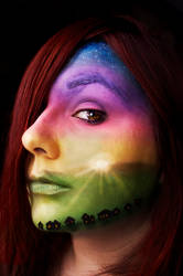Full Face Sunset by KatieAlves