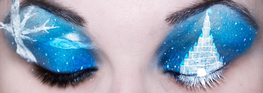 Ice Castle Eyes by KatieAlves