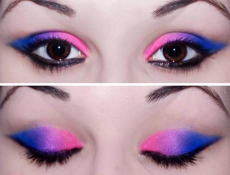 Simple Bubblegum Blended Eyes