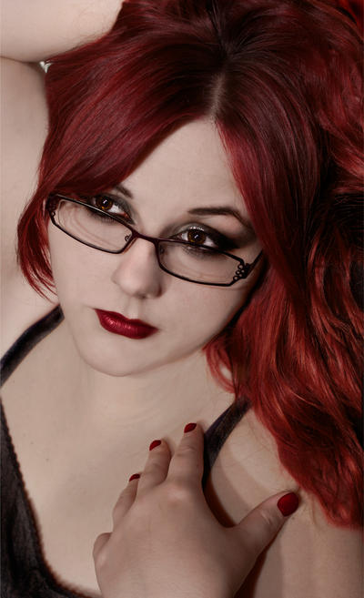 Lady Red by KatieAlves