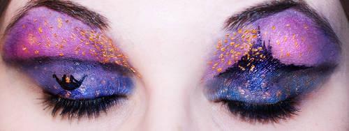 Tangled Lantern Eyes by KatieAlves
