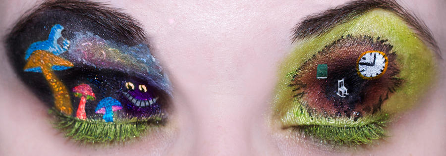 Alice in Wonderland Eyes by KatieAlves