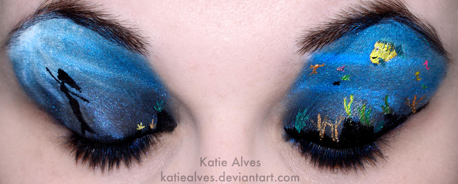 Little Mermaid Eyes by KatieAlves