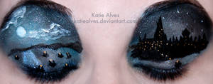 Harry Potter Eyes by KatieAlves