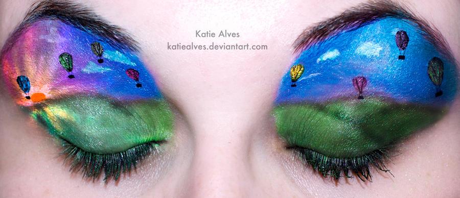 Hot Air Balloon Eyes by KatieAlves