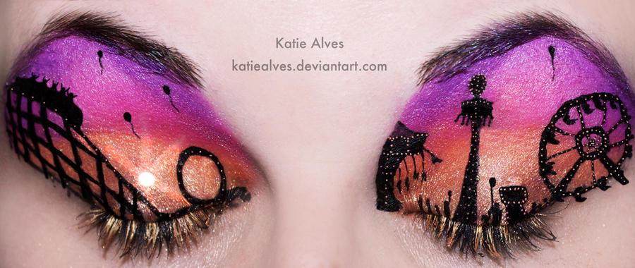 Carnival Sunset Eyes