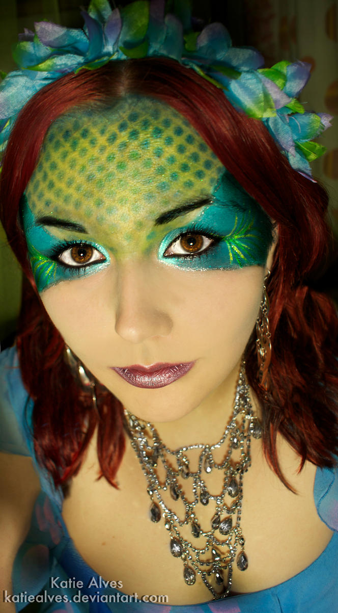 Mermaid Make-up by KatieAlves
