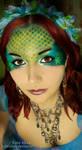 Mermaid Make-up by KatieAlves