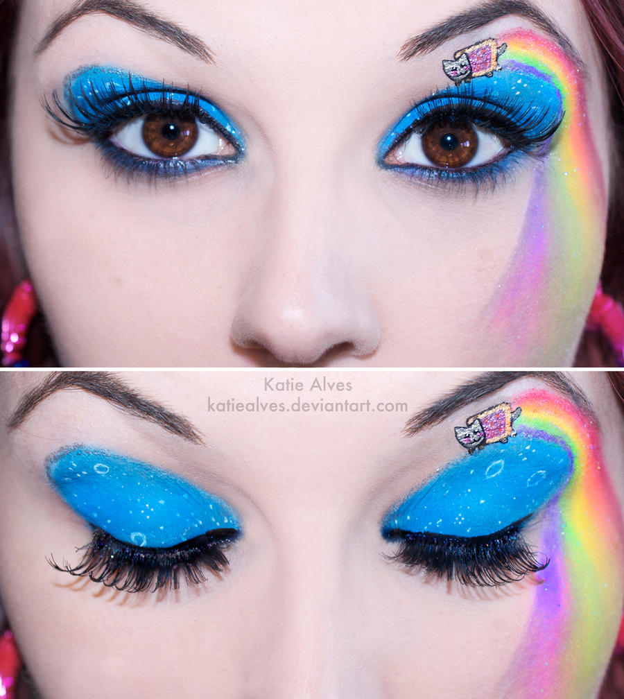 Nyan Cat Eyes by KatieAlves