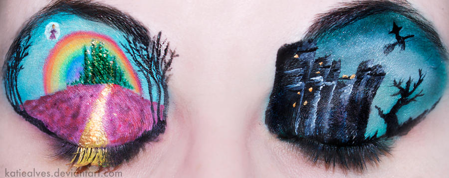 The Wizard of Oz Eyes by KatieAlves