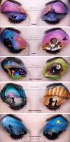 Entire Disney Make-up Collection... So Far