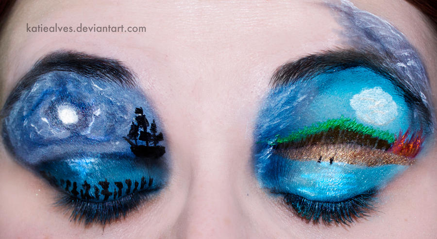 Pirates of the Caribbean Eyes by KatieAlves
