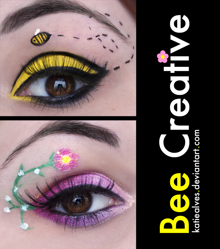 Bee Creative Eyes by KatieAlves