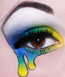 Green Day - Shenanigans Makeup