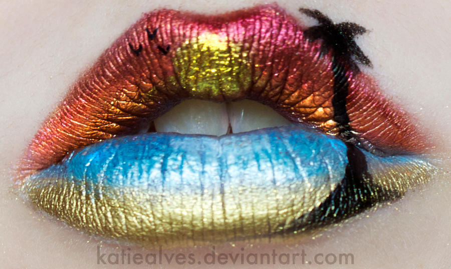 Summer Beach Lips by KatieAlves