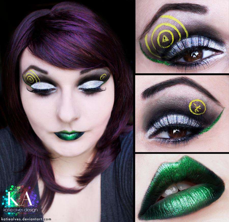 Green Day - Warning Makeup by KatieAlves