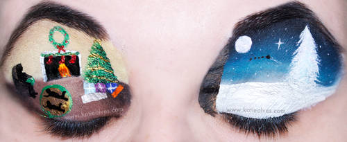 'Twas the Night Before Christmas - Eyes by KatieAlves